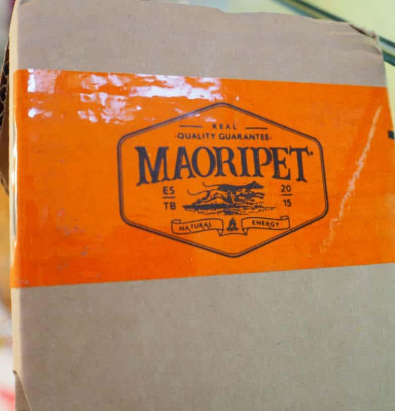 maoripet brucbool etichetta confezione